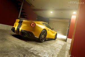 DMC Ferrari F12 SPIA Middle East Special Edition вид сзади